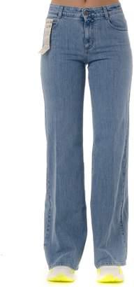 Stella McCartney Flared Cotton Denim Jeans