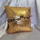 ShinyBeauty Sequin Pillow Gold-12x26-Inch