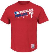 Majestic Men's Philadelphia Phillies Authentic Collection Choice T-Shirt