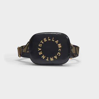 Stella McCartney Bum Bag In Black Patent Alter Nappa