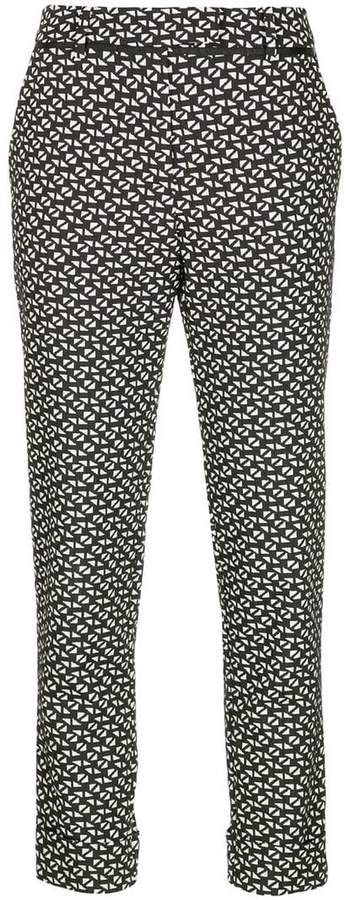 Taylor all-over print trousers