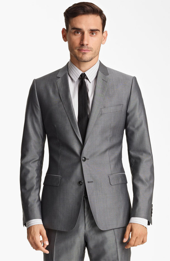 Dolce & Gabbana Wool & Silk Suit