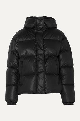 Bogner Fire & Ice Bogner BOGNER Ranja Oversized Cropped Hooded Quilted Down Ski Jacket - Black