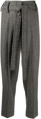 Seventy Herringbone Straight-Leg Trousers