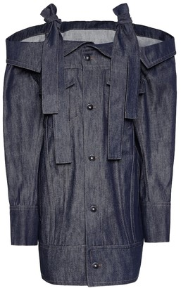 Matthew Adams Dolan Denim jacket dress