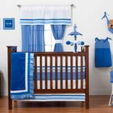 One Grace Place Simplicity Blue Crib Bedding Set & Accessories