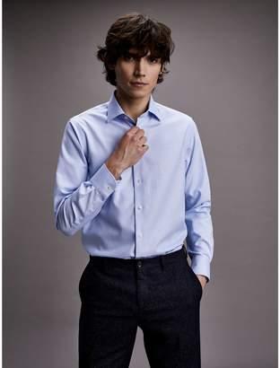 Tommy Hilfiger Regular Fit Textured Dobby Dress Shirt