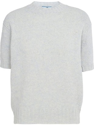 Prada Knitted Shortsleeved Top