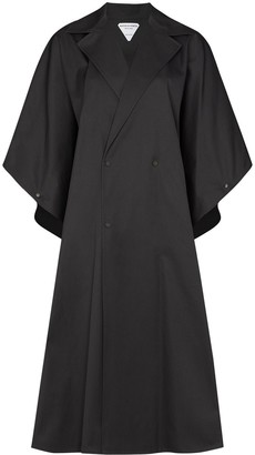 Bottega Veneta Double-Breasted Cape Coat