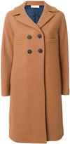 Mantu classic fitted coat - women - Silk/Cotton/Viscose/Virgin Wool - 42