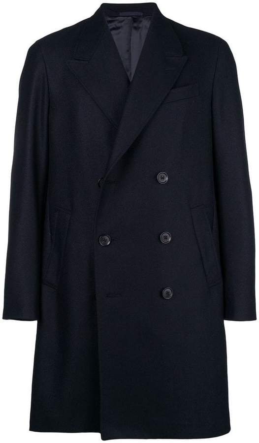 Caruso double breasted coat