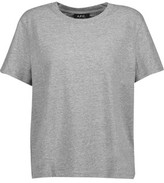 A.P.C. Marled Stretch-Cotton Jersey T-Shirt