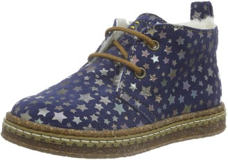 Ocra Unisex Kids 493ms Boots Blue Size: 3.5 Child UK