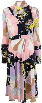 Emilio Pucci Mirabilis print dress
