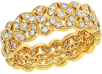 Diamond Select Cuts Nephora 14K 0.71 Ct. Tw. Diamond Leaf Ring