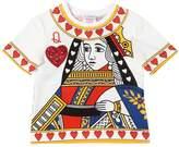 Dolce & Gabbana Queen Of Hearts Cotton Jersey T-Shirt