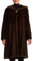 Gorski Hooded Mink-Fur Coat