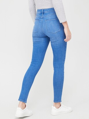 Very ValueFlorence High Rise Skinny Jean - Bright Blue
