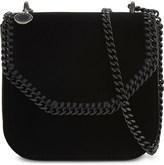 Stella McCartney Falabella small velvet cross-body bag