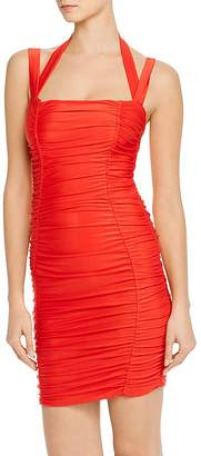 Tiger Mist Tilly Ruched Body-Con Dress