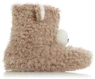 Head Over Heels Fuzzzy Faux Fur Slippers