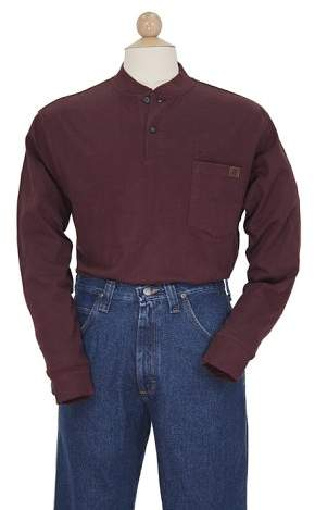 Wrangler RIGGS WORKWEAR Men's Big & Tall Long Sleeve Henley