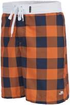 Trespass Mens Pacino Checkered Board Shorts (XL)
