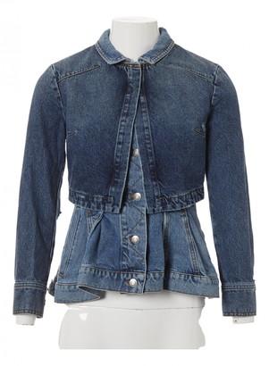 Alexander McQueen Blue Denim - Jeans Jackets