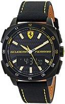 Ferrari Men's 0830170 Aero Evo Analog-Digital Display Black Watch