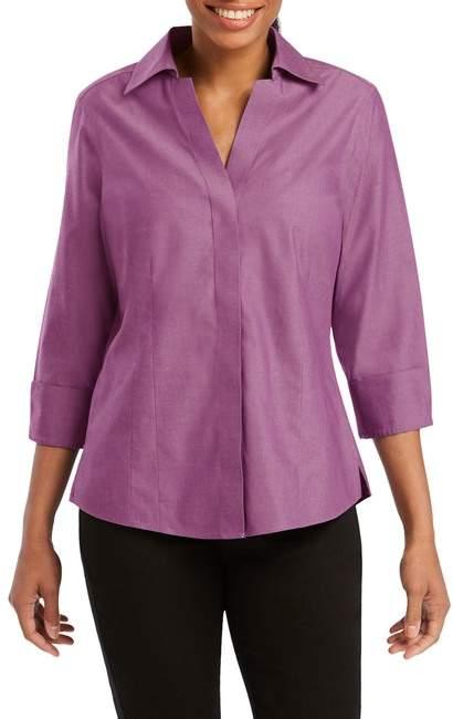 5d139e86 Petite Collared Shirt - ShopStyle