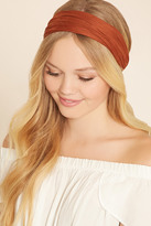 Forever 21 Faux Suede Headwrap