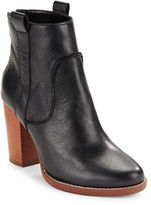 French Connection Avabba Textured Leather Boots