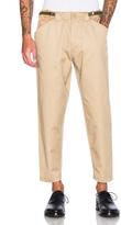GANRYU Cotton Twill Pants