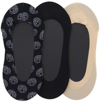 Natori 3-Pack Low-Cut Liner Socks