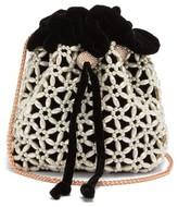 Sophia Webster Emmie Velvet Bucket Bag - Womens - Black Multi