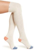 UGG Wool Blend Colorblock Over-the-Knee Socks