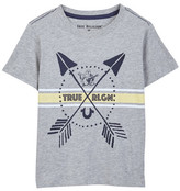 True Religion Cross Arrow Tee (Toddler & Little Boys)