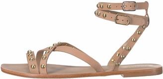 Kaanas Women's Iguazu Studded Gladiator Flat Fashion Sandal