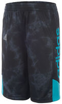 adidas Boys 2-7 Elasticized Textured Shorts
