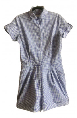 Richard Nicoll Blue Cotton Jumpsuit for Women