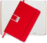 Pantone NEW Tomato Pocket Ruled Elastic Band Notebook