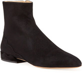 Chloé Laurena Suede Ankle Booties