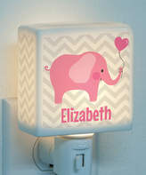 Pink Elephant Personalized Night-Light