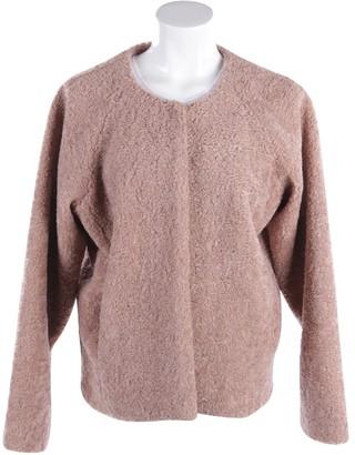 Essentiel Antwerp Pink Leather Jackets