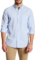 Dockers Standard Fit Essential Poplin Long Sleeve Stripe Shirt
