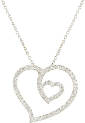 Roberto Coin 18kt White Gold And Diamond Necklace