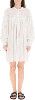 Etoile Isabel Marant Tilalia Embroidered Dress