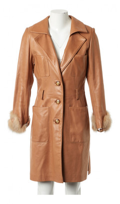Jitrois Camel Leather Coats
