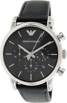 Giorgio Armani Emporio Men's Classic AR1733 Leather Quartz Watch