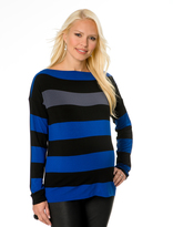 A Pea in the Pod Bailey 44 Striped Maternity Top